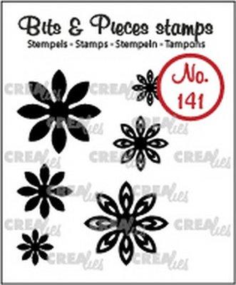 Crealies Bits & Pieces 141 Mini Bloemen 18