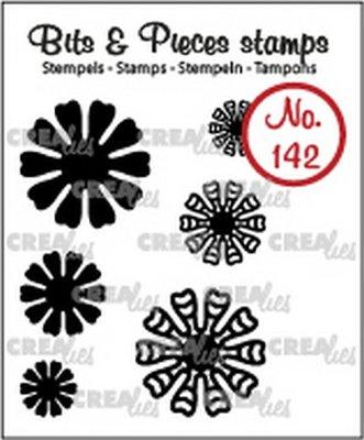 Crealies Bits & Pieces 142 Mini Bloemen 19
