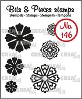 Crealies Bits & Pieces 146 Mini Bloemen 24