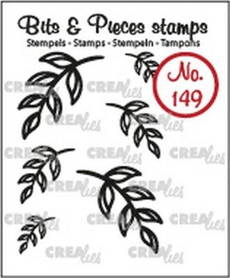 Crealies Bits & Pieces 149 Mini Blaadjes 5
