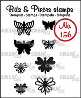 Crealies Bits & Pieces 156 Mini Vlinders 7 + 8