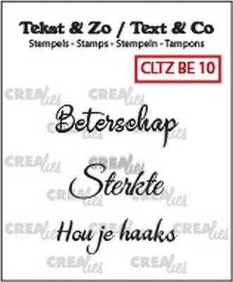 Crealies Tekst & Zo - Beterschap 10
