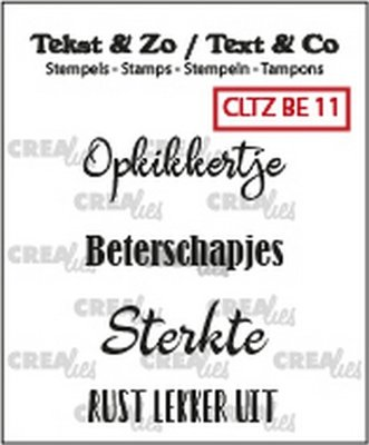 Crealies Tekst & Zo - Beterschap 11