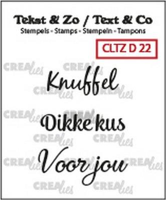 Crealies Tekst & Zo - Divers 22