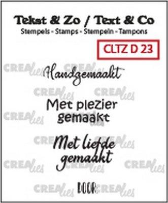 Crealies Tekst & Zo - Divers 23