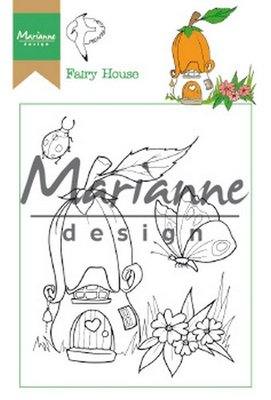 Marianne Design Stempel - Hetty's Fairy House HT1641