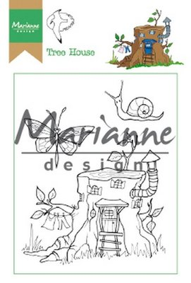 Marianne Design Stempel - Hetty's Tree House HT1642