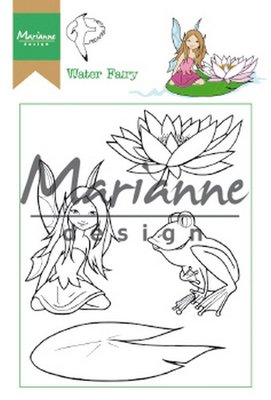 Marianne Design Stempel - Hetty's Water Fairy HT1646