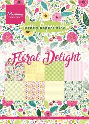 Marianne Design Paper Pack A5 - Floral Delight PK9161