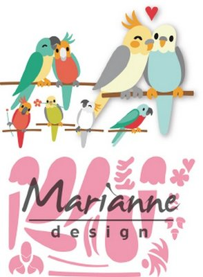 Marianne Design Collectable - Eline's Birds COL1465