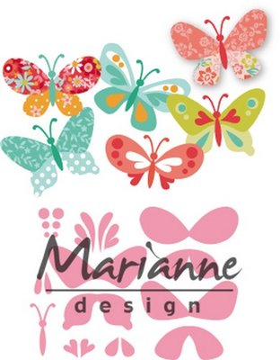 Marianne Design Collectable - Eline's Butterflies COL1466