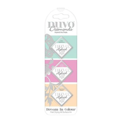 Nuvo Diamond Hybrid Ink Pads - Dream in Colour 84N