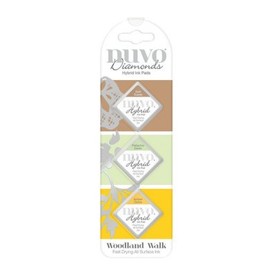 Nuvo Diamond Hybrid Ink Pads - Woodland Walk 85N