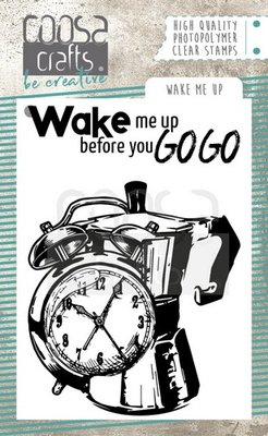 Coosa Crafts Clearstamp - Wake me Up COC-069