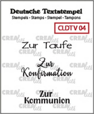 Crealies Tekst & Zo Deutsch - Viel  4