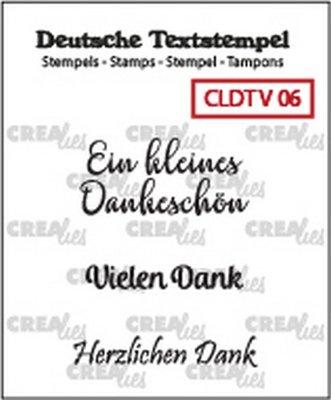 Crealies Tekst & Zo Deutsch - Viel  6