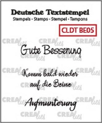 Crealies Tekst & Zo Deutsch - Besserung  5
