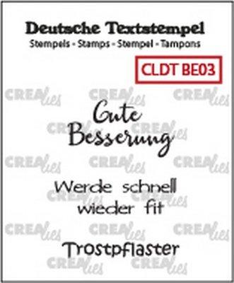 Crealies Tekst & Zo Deutsch - Besserung  3