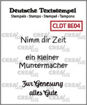 Crealies Tekst & Zo Deutsch - Besserung  4