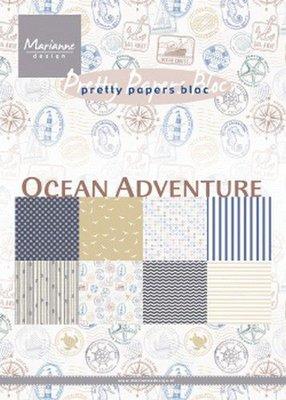 Marianne Design Paper Pack A5 - Ocean Adventure PK9162