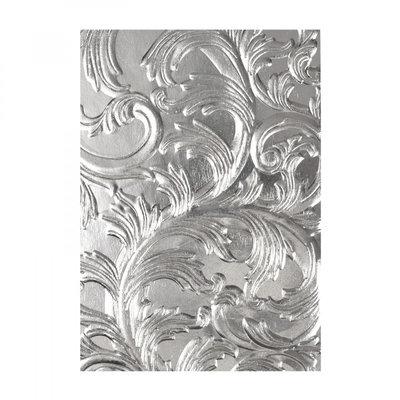 Sizzix 3-D Texture Fades Embossing Folder - Elegant 664172