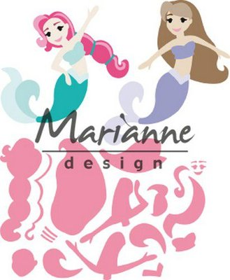 Marianne Design Collectable - Mermaids by Marleen COL1467