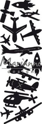 Marianne Design Craftable - Punch Die Aviation CR1471