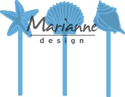 Marianne Design Creatable - Sea Shells Pins LR0602