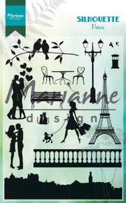 Marianne Design Stempel - Silhouette Paris CS1027