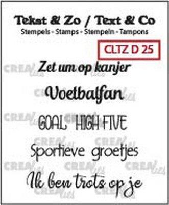 Crealies Tekst & Zo - Divers 25