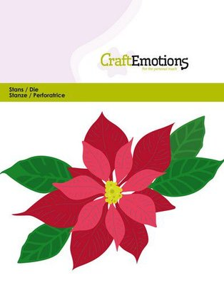 CraftEmotions Die - Poinsettia