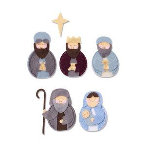 Sizzix Bigz L Die - Sweet Nativity 663498