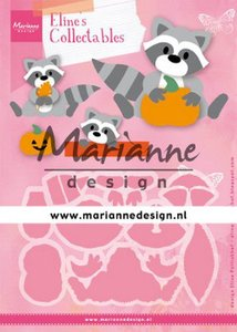 Marianne Design Collectable - Raccoon COL1472