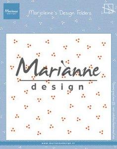 Marianne Design Embossing Folder - Marjoleine's Dots DF3455