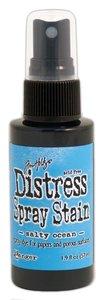 Ranger Distress Spray Stain - Salty Ocean TSS42457