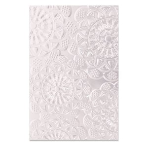 Sizzix 3-D Textured Impressions Embossing Folder - Doily 662265