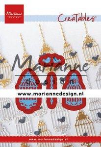 Marianne Design Creatable - Bird Cage Set LR0640