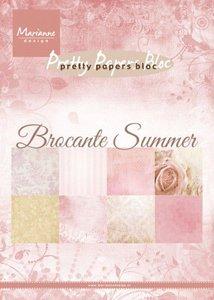 Marianne Design Paper Pack A5 - Brocante Summer PK9166