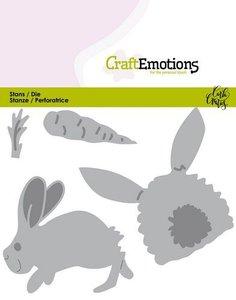 CraftEmotions Die - Bunny 1