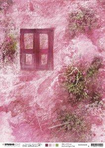 Studio Light Background Paper A4 - Jenine's Mindful Art 3.0 no. 08