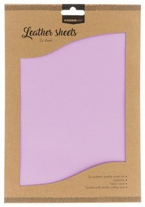 Studio Light Synthetic Leather Sheets no. 6 - Lavendel