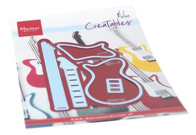 Marianne Design Creatable - Guitar by Marleen LR0657