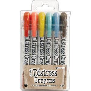 Ranger Tim Holtz Distress Crayons Set no. 7