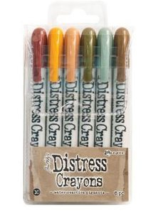 Ranger Tim Holtz Distress Crayons Set no. 10
