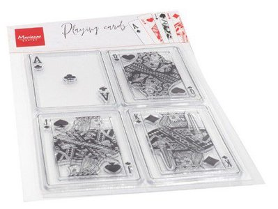 Marianne Design Clearstamp - Playing Cards CS1055