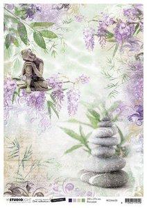 Studio Light Rice Paper - Mindful Art 5.0 no. 28