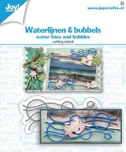 Joy! Crafts Die - Water Lines & Bubbles 6002/1477