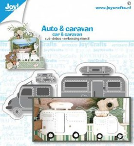 Joy! Crafts Die - Car & Caravan 6002/1480