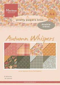 Marianne Design Paper Pad A4 - Autumn Whispers PB7059