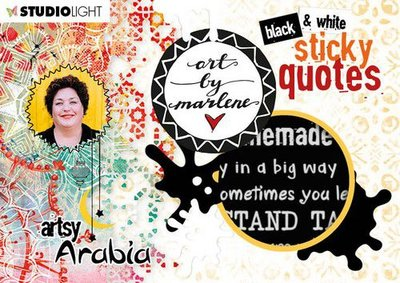 Studio Light Sticker - Artsy Arabia Quotes no. 03